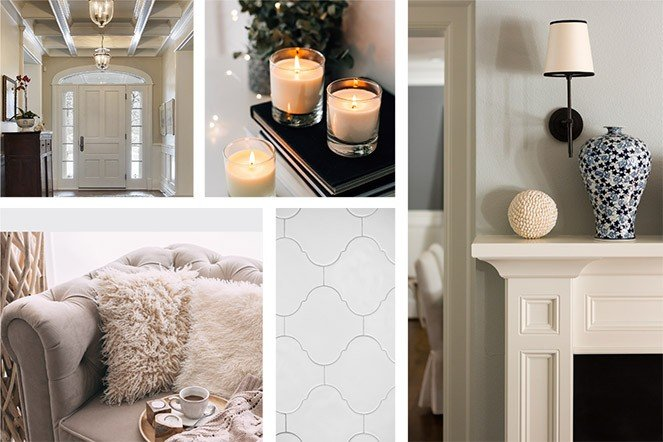 Traditional style mood board