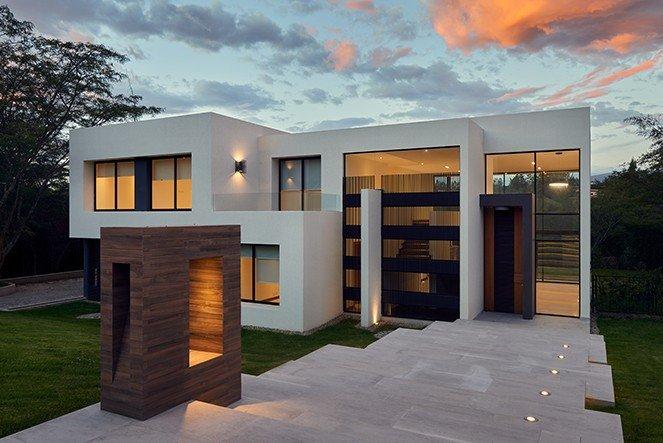 Modern style home