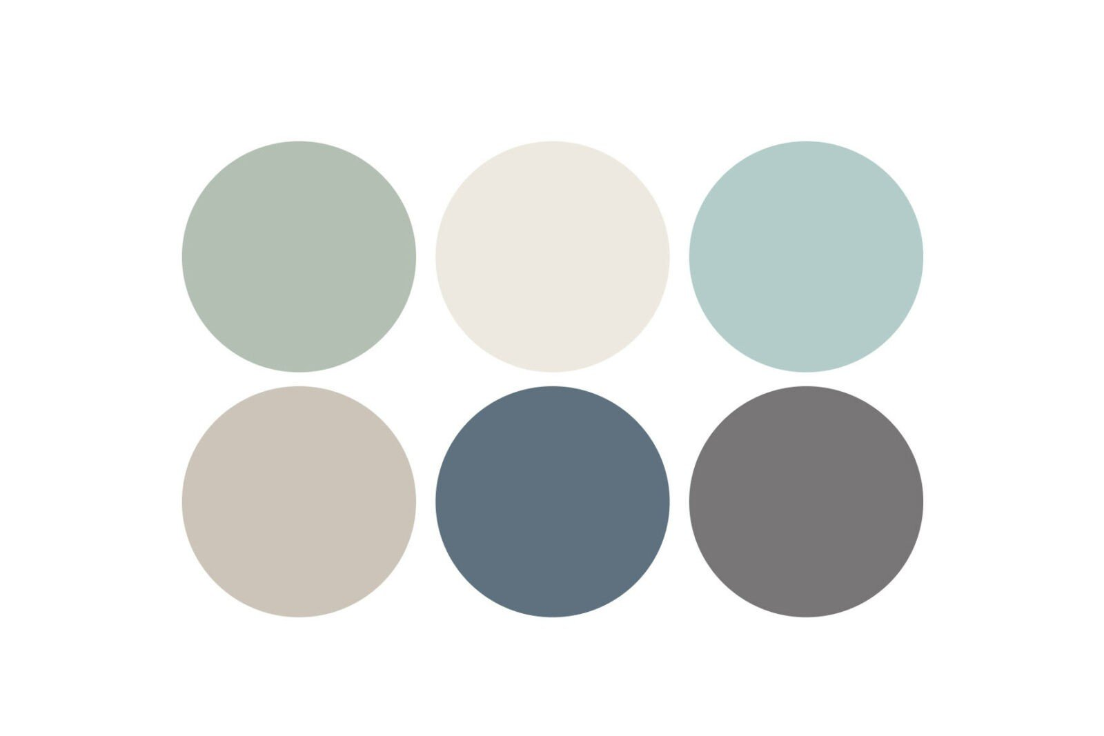 Traditional color palette