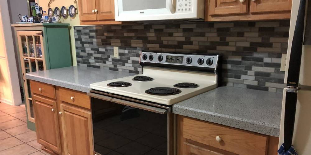 Kitchen Makeover In Little Rock Granite Transformations