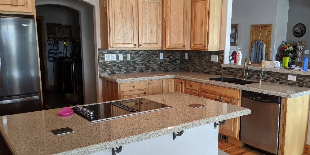 Kitchen refresh with new countertops