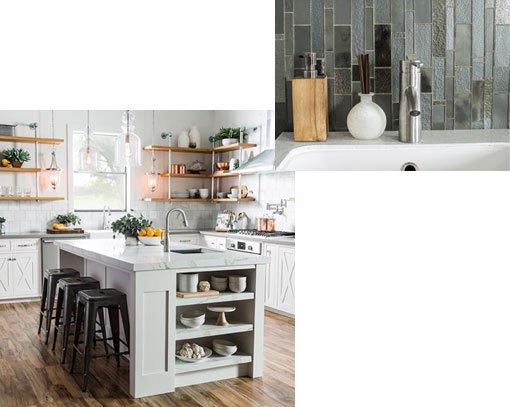 Tiled photos of design inspirations