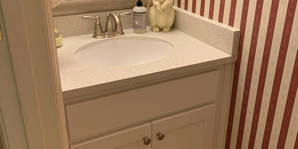 Before Photo of Bathroom Remodel