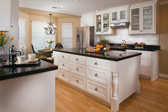 black and white kitchens diamond