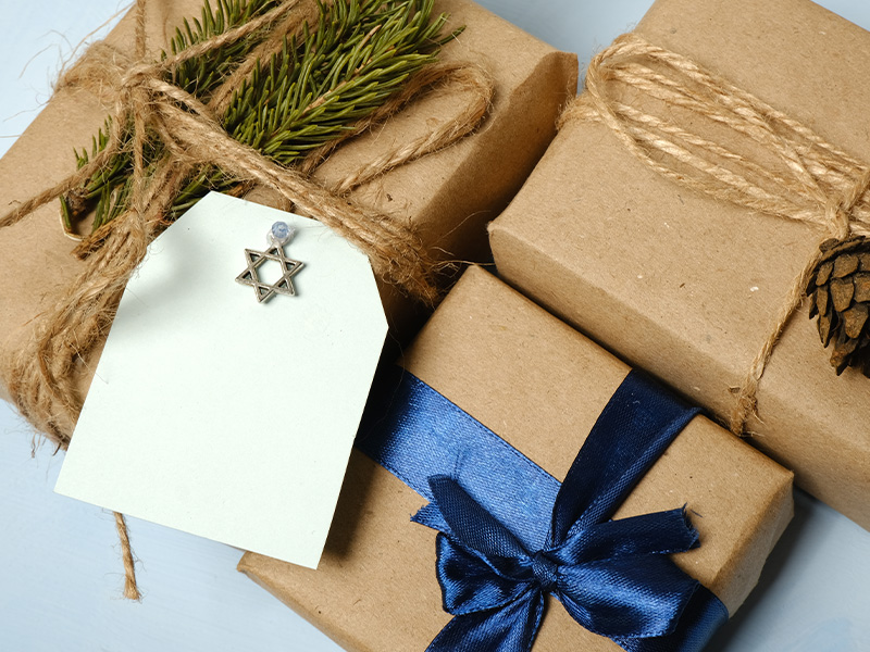 Handcrafted Gift Wrap