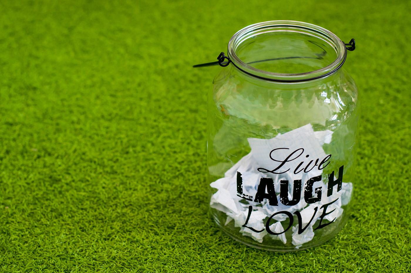 live laugh love message